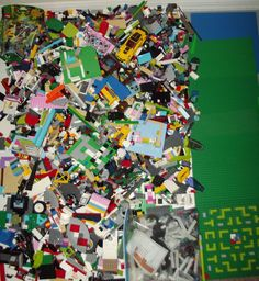 Huge Lot All LEGOS - Over 23 lbs! Bricks Base Plates Specialty Pieces Friends +  #LEGO