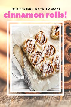 Get creative and make some new recipes inspired by the classic cinnamon roll. These ideas will be something new and different and very tasty. Cinnamon Roll Monkey Bread, Cinnamon Roll French Toast, Cinnamon Roll Pancakes, Cinnamon Roll Cookies, Rolled Sugar Cookies, Buttery Cookies, Cinnamon Rolls, Easy Brunch Recipes, Easy Desserts