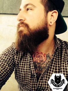 holyholycrew.captain beim Beard of Germany mit schickem Vollbart und Tattoo auf der Brust ... mach du auch mit bei der Suche nach Deutschlands Superbart! www.beard-of-germany.de