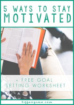 Building motivation to try something new or difficult can seem impossible. Whether you have been trying to streamline your wardrobe, eat healthier, start a business, or read your Bible more, you need a way to get and stay motivated. These 5 tips will help you find just the motivation you need. Study tips for college students