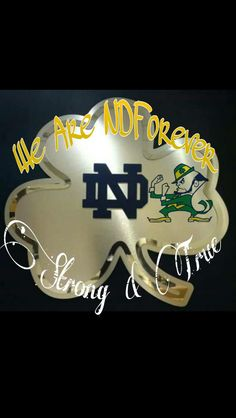 Love my Fightin' Irish forever! Notre Dame Football, Noter Dame, Go Irish, Fighting Irish, Football Jerseys, American Football, Celtic Knots, Neon Signs, My Love