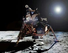The Lunar Module.