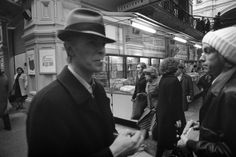 Bowie and Iggy Pop as they make their way unnoticed through a market off Moscow's Red Square, 1976. (Andrew Kent)