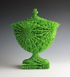 3D printing, ceramics, craft, technology, art, artist, contemporary art, Michael Eden