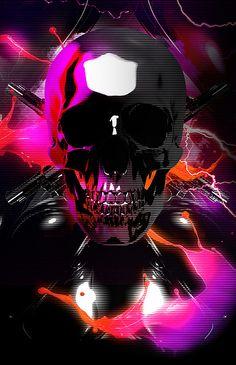 Skull  http://www.creativeboysclub.com/ join us http://pinterest.com/koztar/