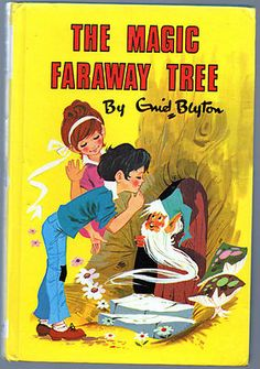 The Magic Faraway Tree ~ Enid Blyton Jo/Fanny/Bessie characters 1971 Hardback