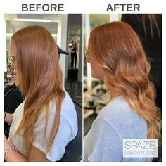 Red Balayage, Balayage Highlights, Ombre Hair, Red Hair, Copper Hair, Rose Gold Hair, Strawberry Blonde, Hair Painting, Hair Inspo