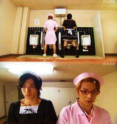 hana kimi - where nothing is considered too strange. Japanese Drama, Japanese Boy, Good Anime To Watch, Dramas, Drama Funny, Korean Shows, Drama Fever, Funny Scenes, Anime Japan