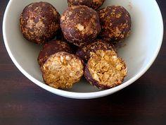 Healthy Peanut Butter Balls   Alida's Kitchen