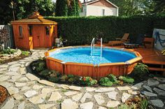 Piscines semi creus es on pinterest piscine hors sol for Piscine trevi