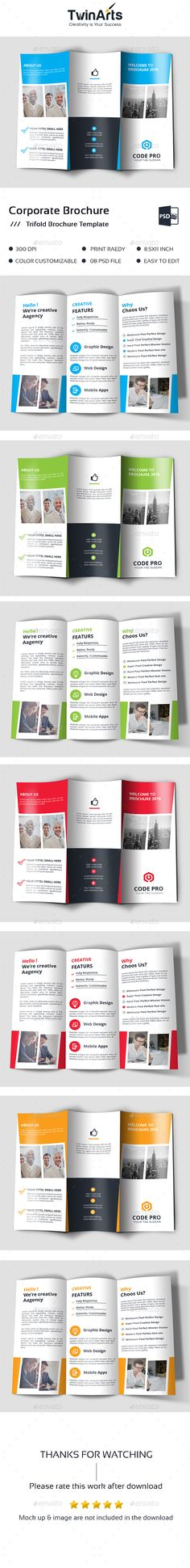 Fashion Store Trifold Brochure Template Psd Vector Eps Indesign