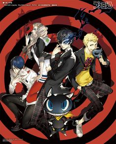 Phantom Thieves of Hearts - Megami Tensei Wiki: a Demonic Compendium of your True Self