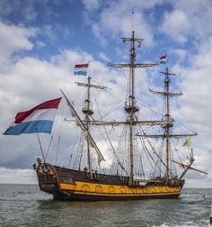 'De Shtandart' used in the movie Admiral - Michiel de Ruyter (2015).