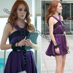 Kiralık Aşk - Defne (Elçin Sangu), Purple Dress