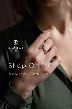 Από το Σάββατο 7 Νοεμβρίου, το φυσικό κατάστημα Skaras Jewels θα παραμείνει κλειστό σύμφωνα με τα νέα μέτρα. Το ηλεκτρονικό μας κατάστημα όμως θα συνεχίσει κανονικά τη λειτουργία του! Μπορείτε λοιπόν να πραγματοποιείτε τις αγορές των αγαπημένων σας κοσμημάτων, ρολογιών και αξεσουάρ με εκπτώσεις έως και -60% στο eshop μας www.skarasjewels.com ✔️Δωρεάν μεταφορικά από 30€ ✔️Δυνατότητα online δειγματισμού Σας ευχαριστούμε! #menoumeasfaleis #shoponline Rings For Men, Jewels, Inspiration, Shopping, Biblical Inspiration, Men Rings, Jewerly, Gemstones, Fine Jewelry