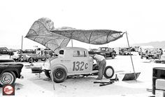 Today's feature begins a series of fine images of the SCTA meet on the Bonneville Salt Flats and in the pits in 1959 at: http://theoldmotor.com/?p=159311