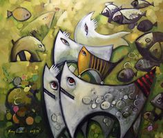 """painting on canvas with oil paint size x The canvas comes with certificate of authenticity by,, Andrzej Gudanski """" The painting comes from period 2017 Ed Fairburn, Surrealism, Auction, Unique, Painting, Art, Over Knee Socks, Art Background, Painting Art"""