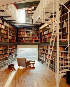 10 homes ideal for book lovers via Vogue Casa magazine  (Foto: Lukas Wassmann)