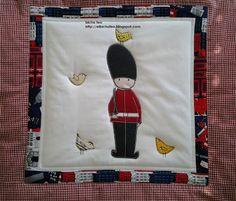 Quilt da culla  http://elbichofeo.blogspot.com..borse, accessori e altro...