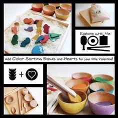 Mama May i - Handmade Learning Toys · Explore With Me Sensory Box