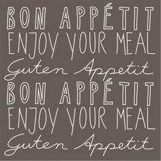 """Papierservietten """"Bon Appetit"""""""