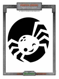 frankenweenie pumpkin carving pattern Spider #Pumpkin #Halloween #Pumpkin Carving #Pumpkin Lanterns #Pumpkin Carving Patterns