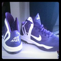 Hyper Aggressor Air Max Worn a couple times.  No tears or wear. Nike Shoes Sneakers