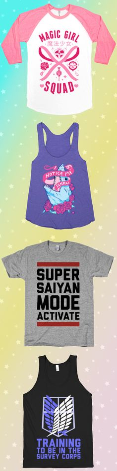 Check out this kawaii collection for anime lovers.  Our entire collection of anime-inspired designs is 30% off from 19-25 May, 2015.  Promo code:  weeaboo