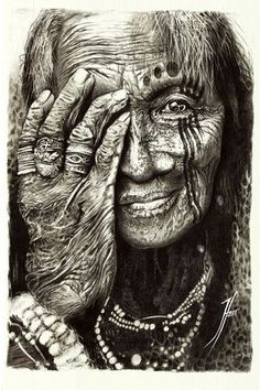 Shamman by Tehani Farr Native Indian, Native Art, Indian Art, Native American History, Native American Indians, Native American Paintings, We Are The World, People Of The World, Amazing Photography