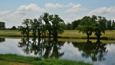 Havelzufluss in die Elbe der Elbe-Radweg führt jetzt entlang der Havel