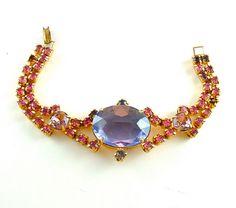 Vintage Bracelet Art Deco Jewelry
