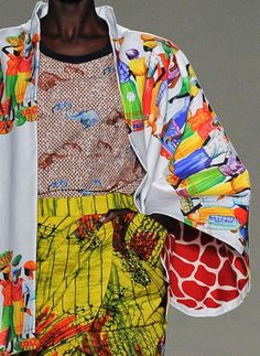 patternprints journal: PRINTS, PATTERNS AND SURFACE EFFECTS: BEAUTIFUL DETAILS FROM MILAN FASHION WEEK (WOMAN COLLECTIONS SPRING/SUMMER 2015) / Stella Jean