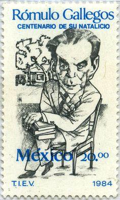 RÓMULO Gallegos, MÉXICO (Venezuelan novelist and president) 1984