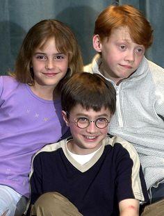 Emma Watson, Daniel Radcliffe et Rupert Grint