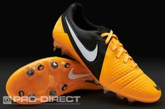 b5561dfe91 Nike Football Boots - Nike CTR360 Maestri III SG-Pro - Soft Ground - Soccer  Cleats - Citrus-White-Black