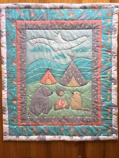 Handmade Baby Quilt/Tribal Crib by CraftingByTheWayside on Etsy