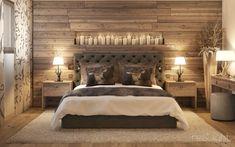 Rustic Master Bedroom, Master Bedroom Design, Bedroom Vintage, Home Bedroom, Modern Bedroom, Bedroom Wall, Bedroom Furniture, Bedroom Decor, Rustic Bedroom Design