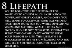 The 8 life path. Life Path 8, Work On Yourself, Wealth, Author, Learning, Studying, Teaching, Education