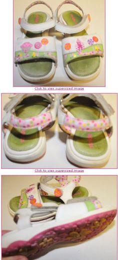 Stride Rite Size 11M Candyland Lollipop Velcro Sandals Juniper. $15