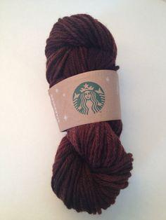 Hot Chocolate Bulky Hand Painted Yarn  by LoveKnitCozy on Etsy. , via Etsy.