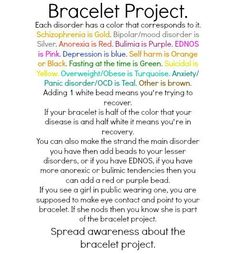 bracelet project. *for boys too...