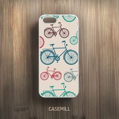 Vintage Bicycle iPhone 6 Case Pattern iPhone 6s Case by CaseMill