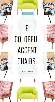 Gorgeous accent chairs for your living room