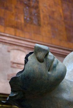 Caixa Forum Madrid, Herzog and De Meuron Sculpture Art, Igor, Igor Mitoraj, Public Art, Sculpture, Art, Street Art, Sculpting, Sculpture Park