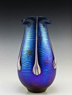 Bohemian Art Glass Iridescent Igor Muller glass