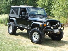 Lets see some Unlimited LJs - Page 9 Black Jeep Wrangler, 2004 Jeep Wrangler, Jeep Tj, Jeep Stuff, Car Stuff, Jeep Rubicon Unlimited, Jeepers Creepers, Jeep Life, Cool Trucks