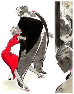 Cartoon Retro | Earl Oliver Hurst, Collier's Magazine