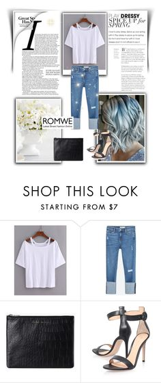 """""""City look"""" by rundo-run ❤ liked on Polyvore featuring Zara, Status Anxiety and Gianvito Rossi"""