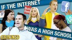 A parody video by Cracked personifies various Internet sites as high school students in class with their teacher Google. The sketch premiered at the 2015 SXSW Interactive Awards, and was written by...