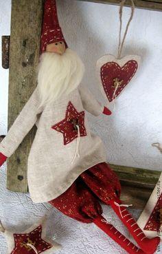 Куклы Тильды ручной работы. Ярмарка Мастеров - ручная работа Санта с лошадкой. Подарочный набор.. Handmade.